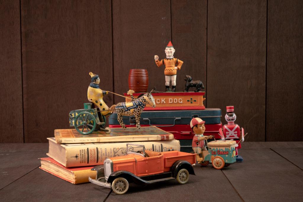 Stock&CO, antiek speelgoed, brocante, antieke boeken