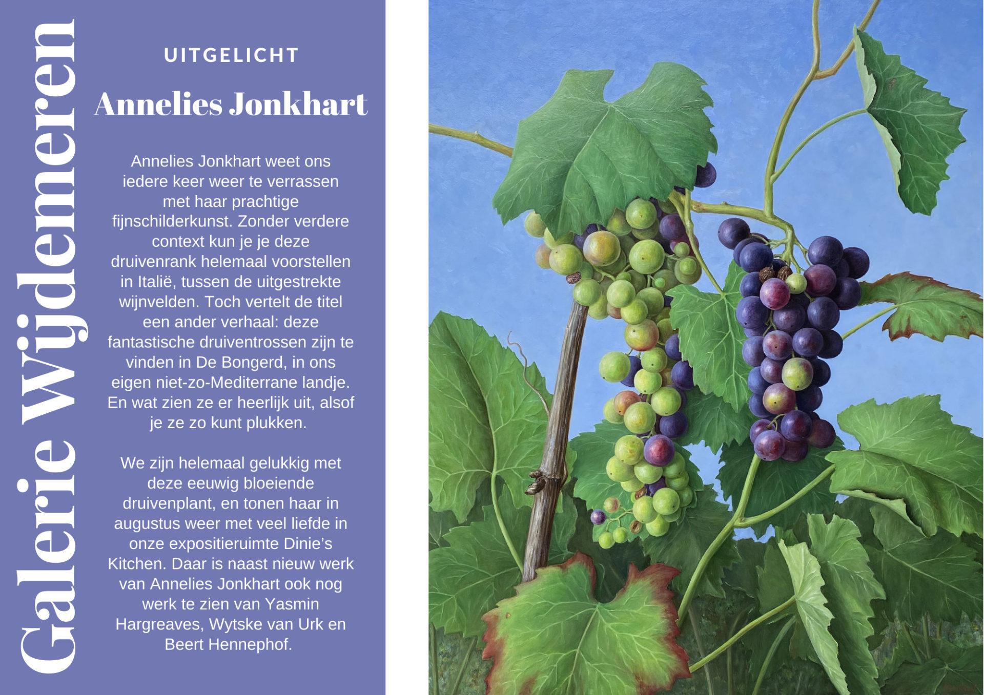 Annelies Jonkhart, kunst te koop bij Galerie Wijdemeren