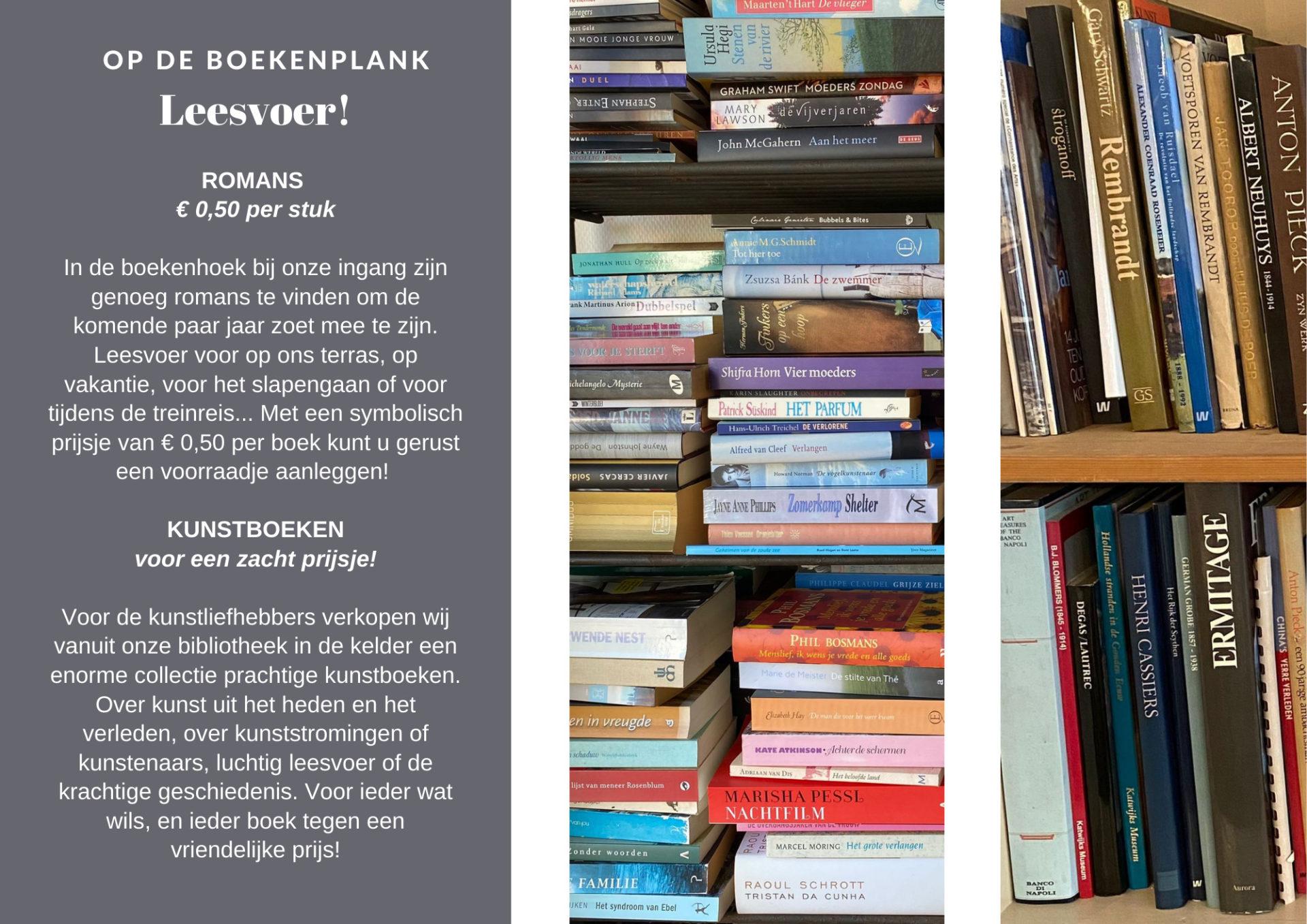 Boeken te koop bij Galerie Wijdemeren