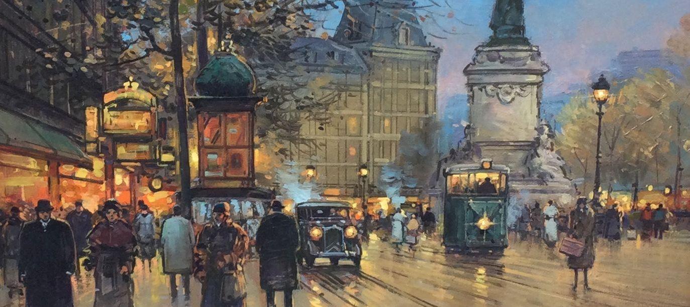 Paul Renard, Parijs, te koop bij Galerie Wijdemeren