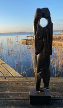 Te koop bij Galerie Wijdemeren, C4767-6, Theo Mackaay, Untitled, 2007, brons, 136.5 cm