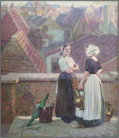 Kunstenaar Hermann Knopf 1231, Hermann Knopf,