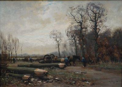 Kunstenaar Arie J. Zwart verkocht