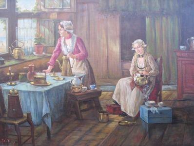 Kunstenaar Johannes Wouterus (Jan) van Trirum 2056, J. van Trirum verkocht
