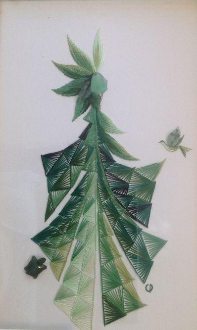 Kunstenaar Cecile Dreesmann 216, Cecile Dreesmann naaldkunst verkocht
