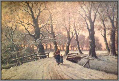 Kunstenaar Adriaan Marinus Geijp 2482, A.M. Geijp Wintergezicht verkocht