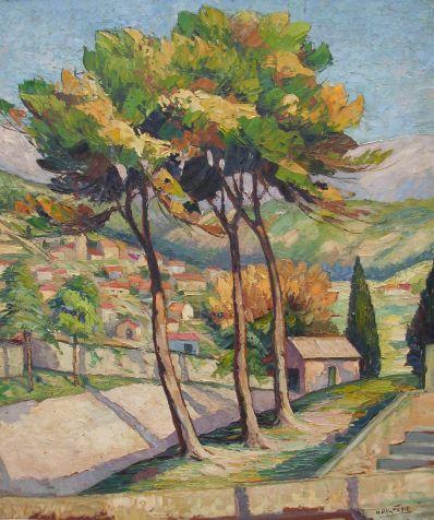 Kunstenaar George Daumerie 2619, George Daumerie