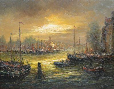 Kunstenaar Peter Brouwer 2057, Peter Brouwer Haven verkocht
