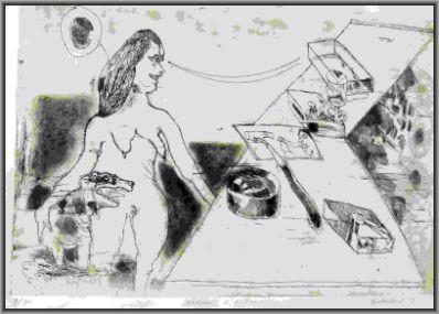 Kunstenaar Lucebert 2994, Lucebert