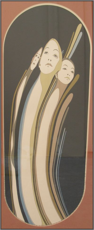 Kunstenaar John. L. Eastman 3034, John Eastman Litho Verkocht