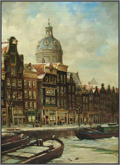 Schilderijen te koop van kunstschilder C.A. Streefkerk olie op doek, gesigneerd, Expositie Galerie Wijdemeren Breukeleveen