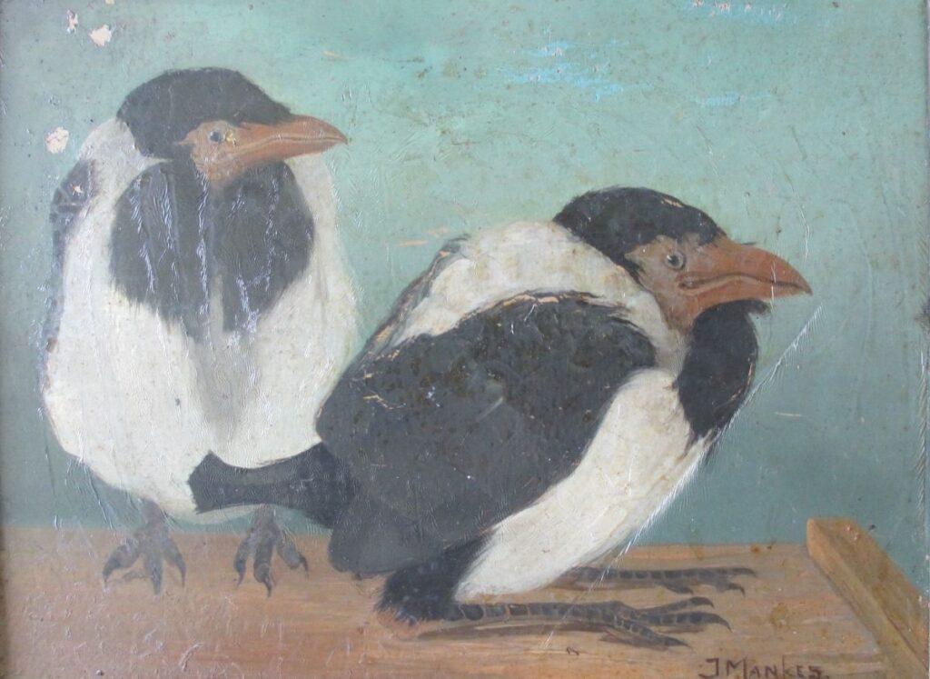 Kunstenaar Jan Mankes 34, Jan Mankes, olie op paneel r.o. gesigneerd verkocht