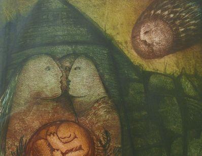 Kunstenaar Ria Zurné 3572, Ria Zurne particuliere collectie