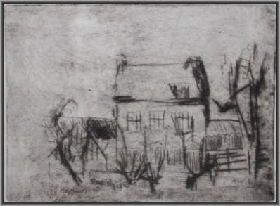 Schilderijen te koop van kunstschilder Anton Heijboer Het paradijsje van Godfried Bomans 1953, Expositie Galerie Wijdemeren Breukeleveen