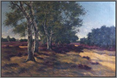 Kunstenaar Adolf van Weezel - Errens 3795, Adolf van Weezel-Errens 'Heidegezicht'