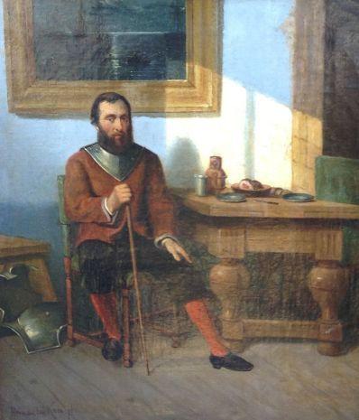 Kunstenaar Herman F.C. ten Kate 5705, Herman F.C. ten Kate olie op doek, 40 x 30 cm l.o. gesigneerd