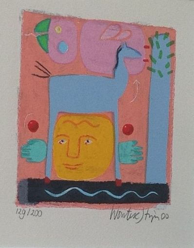 Kunstenaar Wouter Stips 5720, Wouter Stips
