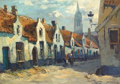 Kunstenaar Jan Korthals 7414 Jan Korthals Brugge particuliere collectie