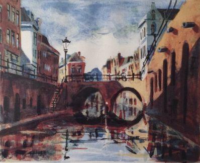 Kunstenaar Jeroen Hermkens 7501, Jeroen Hermkens Maartensbrug Utrecht verkocht