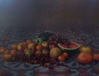 Kunstenaar David Eddington 7606, David Eddington 'Stilleven'