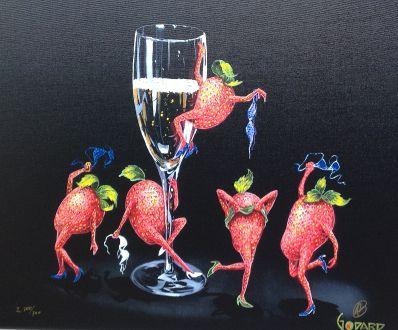 Kunstenaar Michael Godard 7609, Michael Godard r.o. gesigneerd particuliere collectie