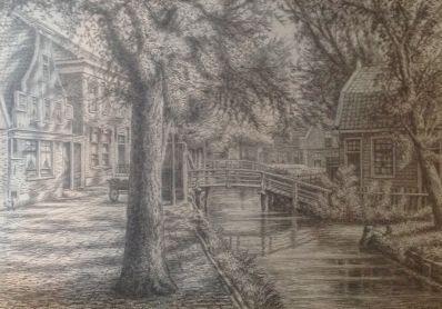 Kunstenaar Gerrit Nicolaas Woudt 7610, Gerrit Woudt Zaandijk