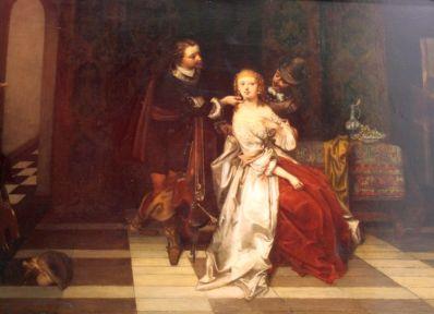 Schilderijen te koop, kunstschilder  Casimir VandenDaele genrestuk, expositie Galerie Wijdemeren Breukeleveen