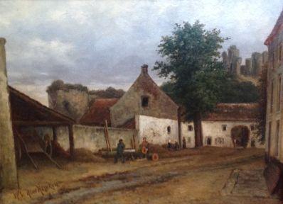 Kunstenaar Willem de Haas Hemken 8163, Willem de Haas Hemken  Verkocht