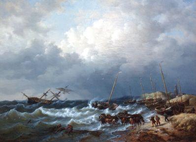 Kunstenaar George Willem Opdenhoff 8238, G.W. Opdenhoff,