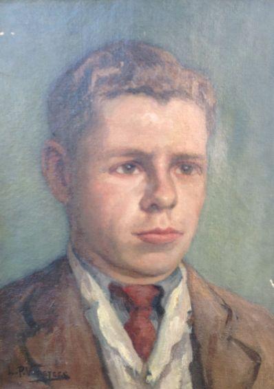 Kunstenaar Leonard Pieter Versteeg