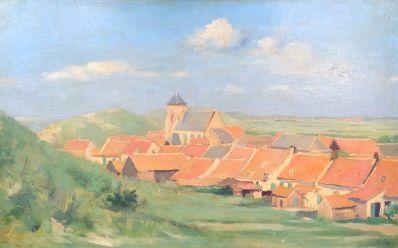 Kunstenaar Abraham van der Zee 8729, Abraham van der Zee duingezicht verkocht