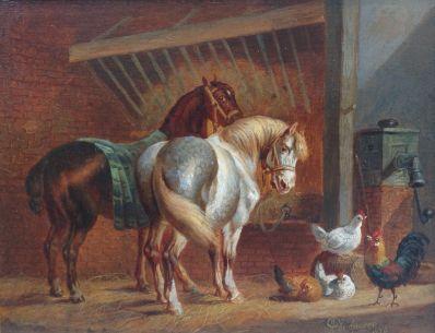 Kunstenaar Albertus Verhoesen 9233 - 200, Albertus Verhoesen