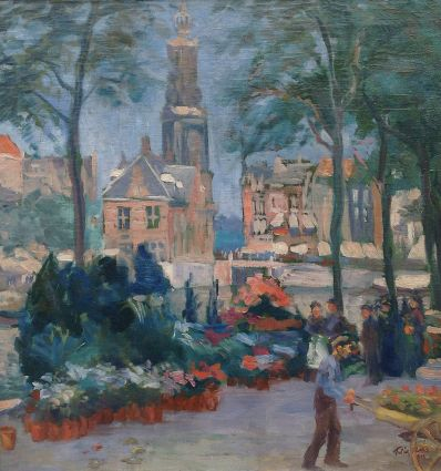 Kunstenaar Felix Hess 9460, Felix Hess Amsterdam verkocht