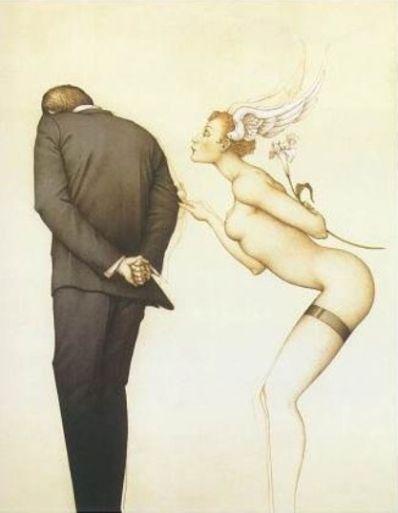 Kunstenaar Michael Parkes A104, Michael Parkes,