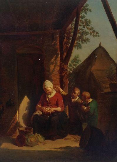 Kunstenaar A. De Braekeleer A120, A. De Braekeleer
