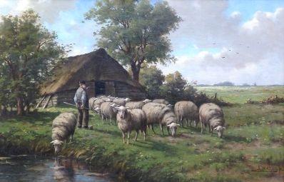 Kunstenaar Adriaan Marinus Geijp A121, A.M. Geijp verkocht