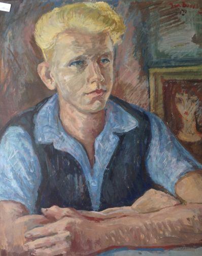 Kunstenaar Jan Budding A2118, Jan Budding