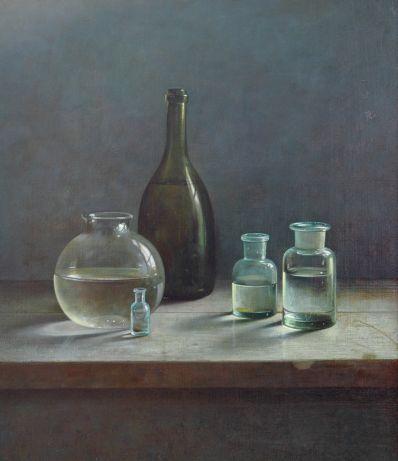 Kunstenaar Henk Helmantel A2968-1 Henk Helmantel particuliere collectie voorheen te koop