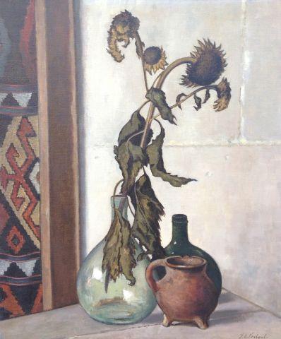 Kunstenaar Jan Verheul