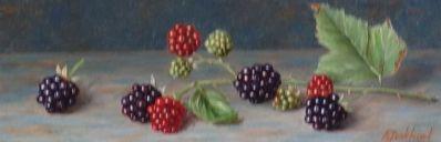 A8367 Annelies Jonkhart Bramen verkocht, te koop bij Galerie Wijdemeren Breukeleveen, schilderijen, expositie