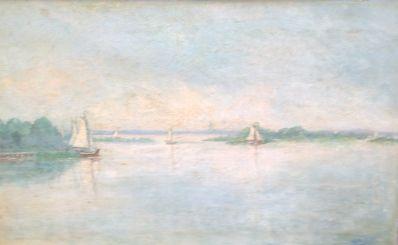 Schilderijen te koop van kunstschilder Wim Block Loosdrecht rechtsonder gesigneerd, Expositie Galerie Wijdemeren Breukeleveen