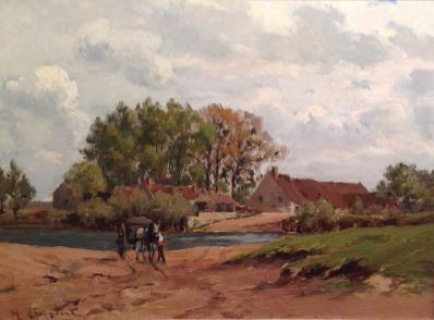 Kunstenaar Henri Linquet A4284, Henri Linquet