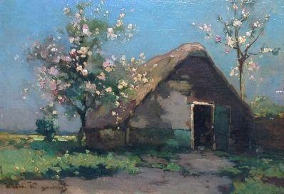 Kunstenaar W.J. Weissenbruch A5023, W.J. Weissenbruch verkocht