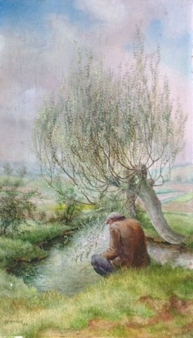 Kunstenaar H.V. Vasessen A537, H.V. Vasessen