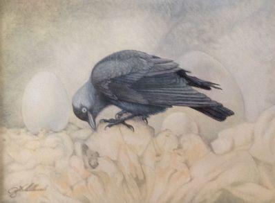 Kunstenaar Achilles Cools A5906, Achilles Cools Pastel op doek Verkocht