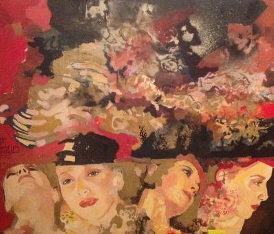 Kunstenaar Ton Beentjes A6176, Ton Beentjes Portretten  Verkocht