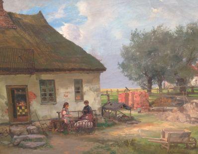Kunstenaar Carl Franz Adolf Fischer A6215, Adolf C.F. Fischer 1906