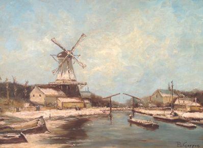 Kunstenaar P. van Geffen A6240, P. van Geffen