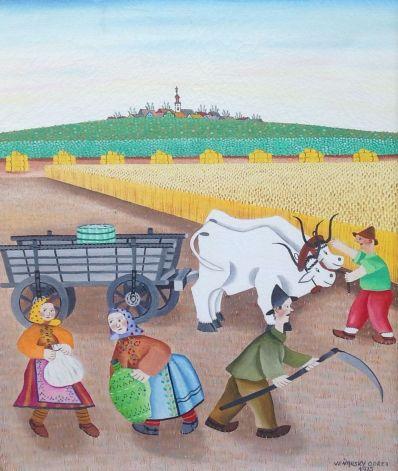 Kunstenaar Ondrej Venjarski A6322, Ondrej Venjarski,