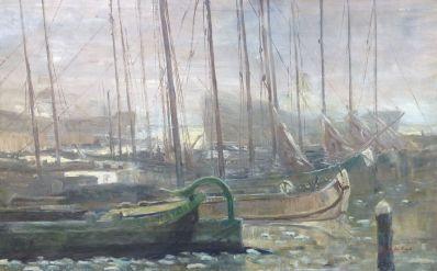 Kunstenaar Lucien den Arend